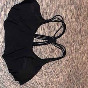 Black Swimming Top